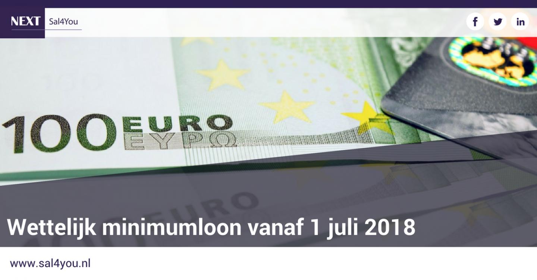 Sal4You_blog_Wettelijk minimumloon vanaf 1 juli 2018 (1)